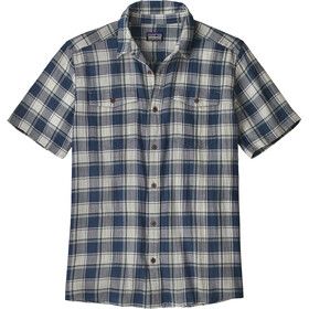 Patagonia M's Steersman Shirt Protester Plaid/Stone Blue